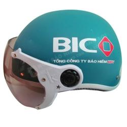 Mũ Bảo Hiểm Nửa Đầu BIDV