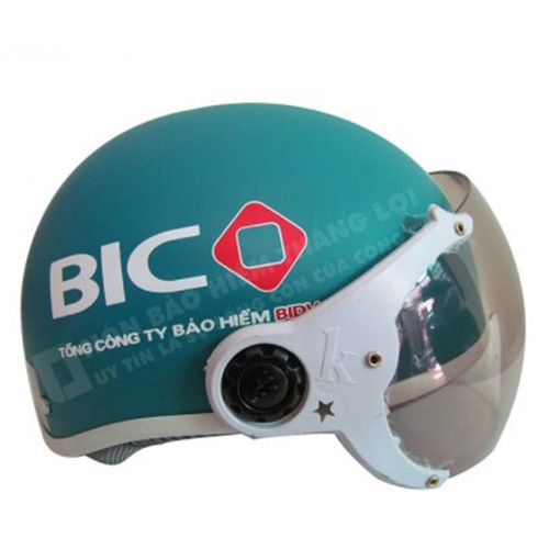Mũ Bảo Hiểm Nửa Đầu BIC