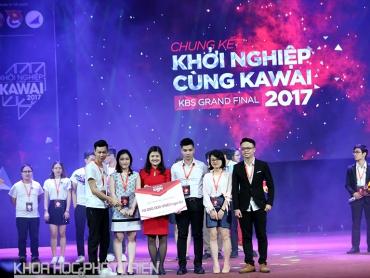 Mũ bảo hiểm thông minh giành quán quân Khởi nghiệp cùng Kawai 2017