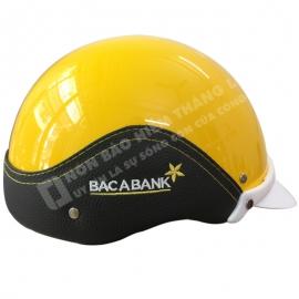 mũ bảo hiểm quảng cáo Bắc Á Bank