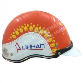 mũ bảo hiểm quảng cáo lihan