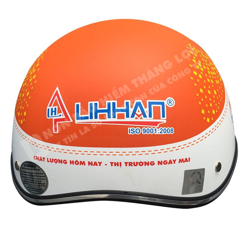 Nón bảo hiểm in logo LiHan