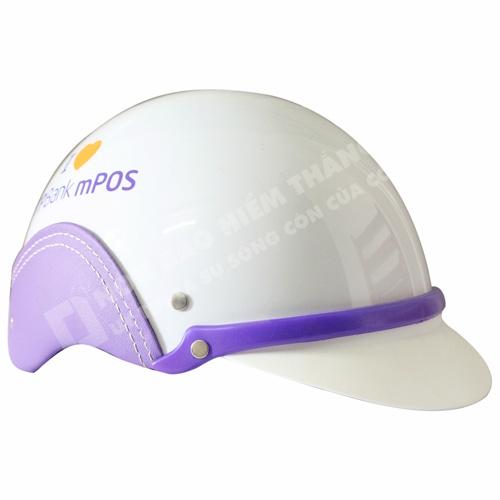 Mũ Bảo Hiểm Nửa Đầu Ngân Hàng Tiền Phong