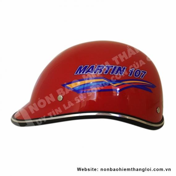 Nón Bảo Hiểm Nửa Đầu MARTIN 107