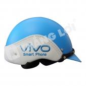 Nón Bảo Hiểm Nửa Đầu Ốp Da Vivo Smartphone