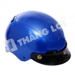 Mũ Bảo Hiểm Nửa Đầu Xanh