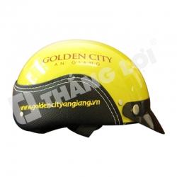 Nón Bảo Hiểm in Logo Golden City