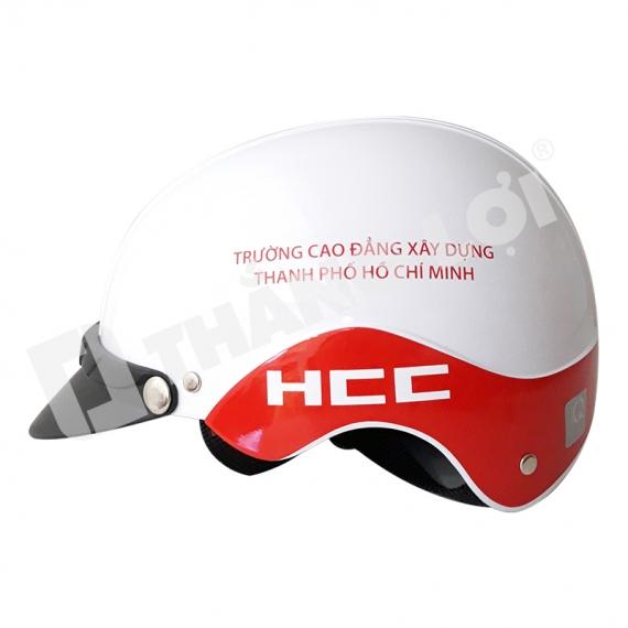 Mũ Bảo Hiểm Nửa Đầu HCC