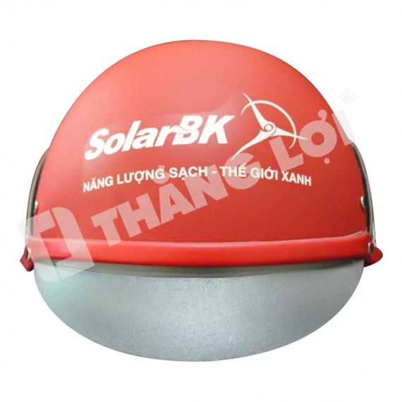 Mũ Bảo Hiểm Nửa Đầu Solar BK