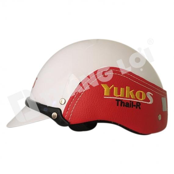 Nón Bảo Hiểm in Logo Yukos