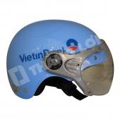 Nón Bảo Hiểm Nữa Đầu Có Kính Vietinbank