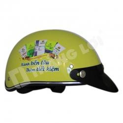 Mũ Bảo Hiểm Nửa Đầu Đạm Cà Mau