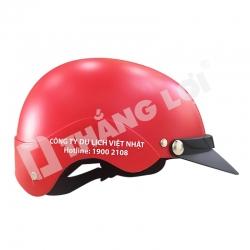 Mũ Bảo Hiểm Nửa Đầu Du Lịch Việt Nhật
