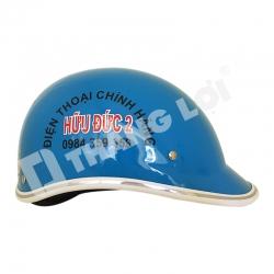 Mũ Bảo Hiểm Nửa Đầu Hữu Đức 2
