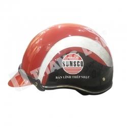 Mũ Bảo Hiểm Nửa Đầu Sunsco
