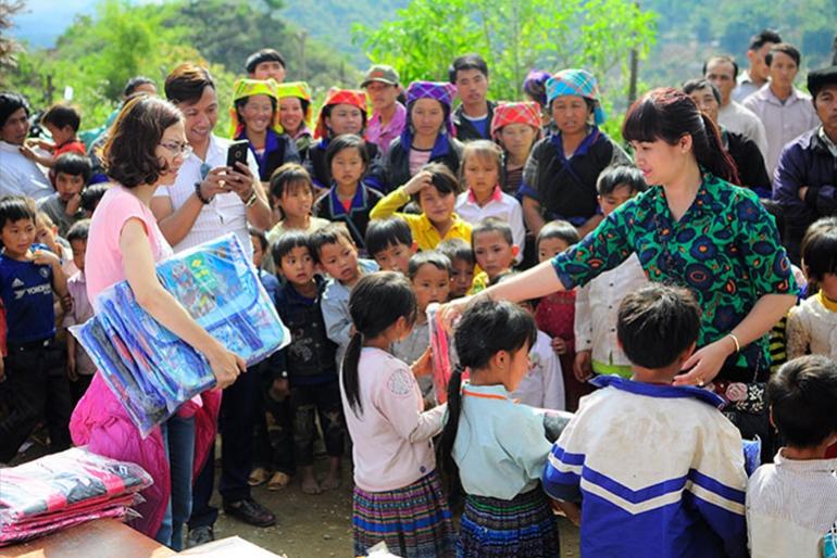 Thắng Lợi - chắp cánh ước mơ đến trường của trẻ em nghèo