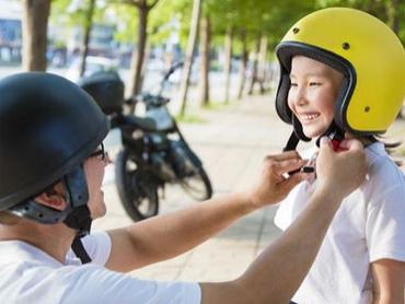 Bảo vệ con yêu với mũ bảo hiểm trẻ em chuẩn chất lượng
