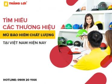 Tìm hiểu các thương hiệu mũ bảo hiểm chất lượng tại Việt Nam hiện nay