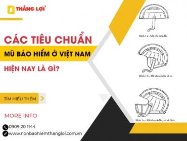 Các tiêu chuẩn mũ bảo hiểm ở Việt Nam hiện nay là gì?