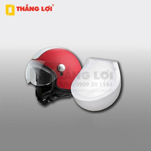 Nón bảo hiểm được sản xuất với lớp vỏ bên ngoài được làm bằng chất liệu nhựa tốt, dày, cứng cáp