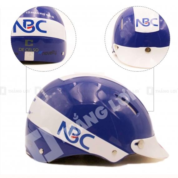 Mũ Bảo Hiểm Nửa Đầu NBC