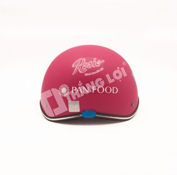 Nón Bảo Hiểm PANFOOD Màu Hồng