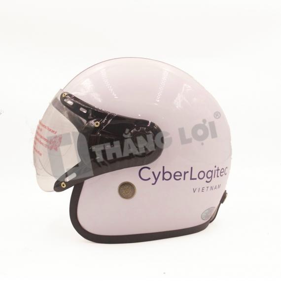 Nón Bảo Hiểm 3/4 Đầu CYBER LOGITEC