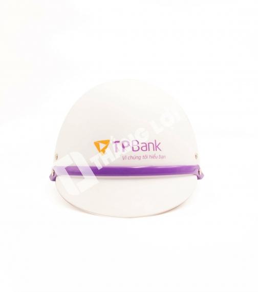 Nón Bảo Hiểm Nửa Đầu TP Bank