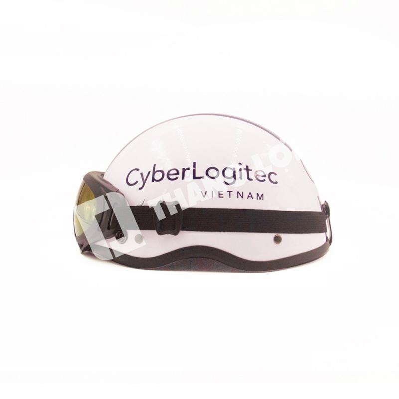 Nón bảo hiểm nửa đầu có kính Cyber Logitec