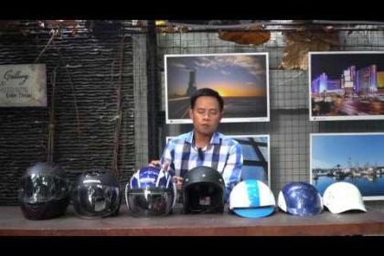Đội nón bảo hiểm để bảo vệ đầu chứ không phải để đối phó