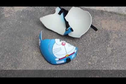 Test thử độ bền các loại nón bảo hiểm thường dùng trong sản xuất
