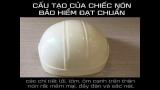 Cấu tạo nón bảo hiểm đạt chuẩn