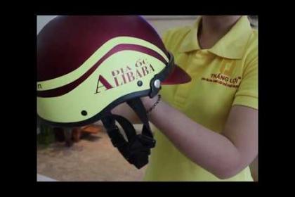 Sản xuất nón bảo hiểm Địa ốc Alibaba