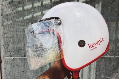 Nón bảo hiểm 3/4 thời trang của KEWPIE VIETNAM được sản xuất bởi THẮNG LỢI