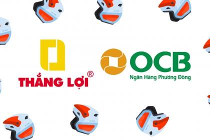 Sản xuất nón bảo hiểm OCB - Ngân hàng Phương Đông